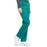 Cherokee Workwear Professionals WW160 Scrubs Pants Women's Mid Rise Straight Leg Drawstring Hunter Green 5XL