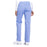 Cherokee Workwear Professionals WW170 Scrubs Pants Women's Mid Rise Straight Leg Pull-on Cargo Ciel Blue 3XL
