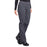 Cherokee Workwear Professionals WW170 Scrubs Pants Women's Mid Rise Straight Leg Pull-on Cargo Pewter 5XL