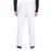 Cherokee Workwear Professionals WW190 Scrubs Pants Men's Tapered Leg Drawstring Cargo White 3XL