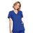 Cherokee Workwear WW650 Scrubs Top Women's Mock Wrap Royal