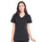 Cherokee Workwear Professionals WW655 Scrubs Top Women's Mock Wrap Black