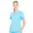 Cherokee Workwear Professionals WW665 Scrubs Top Women's V-Neck Turquoise 4XL