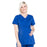 Cherokee Workwear Professionals WW685 Scrubs Top Maternity Mock Wrap Galaxy Blue