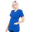 Cherokee Workwear Professionals WW685 Scrubs Top Maternity Mock Wrap Galaxy Blue L