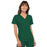 Cherokee Scrubs Top 2XL Cherokee Flexibles 2968 Scrubs Top Women's V-Neck Knit Panel Hunter Green