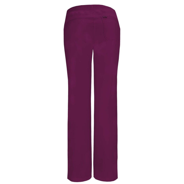 Cherokee Scrubs Pants 2XL / Regular Length Cherokee Infinity 1123A Scrubs Pants Women's Low Rise Straight Leg Drawstring Wine