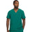 Cherokee Scrubs Top 2XL Cherokee Infinity CK900A Scrubs Top Men's V-Neck Hunter Green