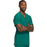 Cherokee Scrubs Top Cherokee Infinity CK900A Scrubs Top Men's V-Neck Hunter Green