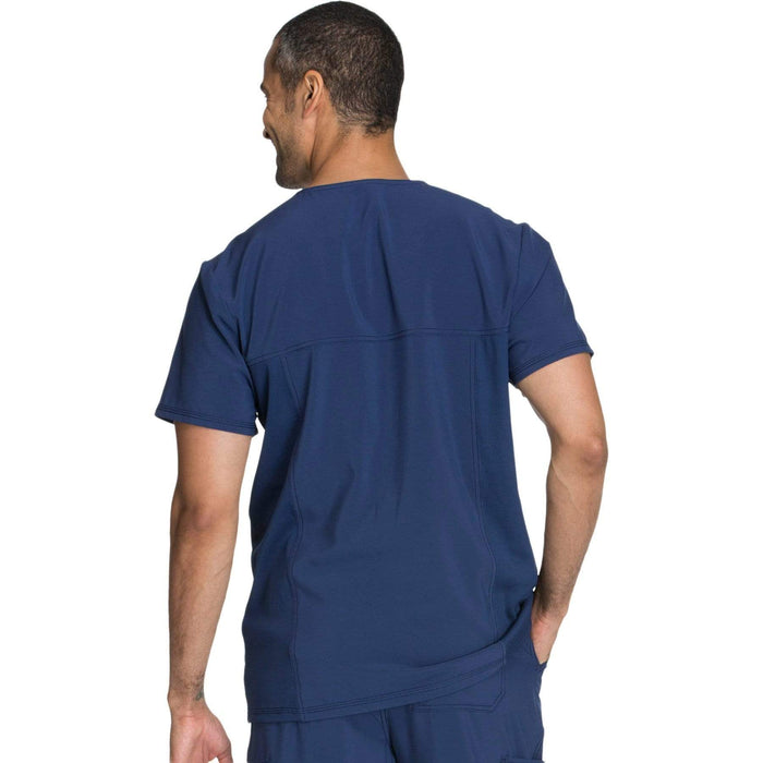 Cherokee Scrubs Top Cherokee Infinity CK900A Scrubs Top Men's V-Neck Navy