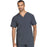 Cherokee Scrubs Top 2XL Cherokee Infinity CK900A Scrubs Top Men's V-Neck Pewter