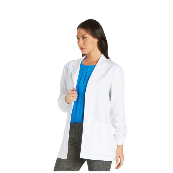 "Cherokee Lab Coat 2XL Cherokee Professional 1302 Lab Coat Women's 30"" White"