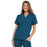 Cherokee Scrubs Top 2XL Cherokee Workwear 4700 Scrubs Top Women's V-Neck Caribbean Blue