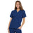 Cherokee Scrubs Top 2XL Cherokee Workwear 4700 Scrubs Top Women's V-Neck Galaxy Blue
