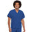 Cherokee Scrubs Top 2XL Cherokee Workwear 4777 Scrubs Top Unisex V-Neck Tunic. Royal