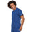 Cherokee Scrubs Top Cherokee Workwear 4777 Scrubs Top Unisex V-Neck Tunic. Royal
