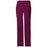 Cherokee Scrubs Pants 2XL / Regular Length Cherokee Workwear Core Stretch 24001 Scrubs Pants Women's Low Rise Drawstring Cargo Wine