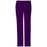 Cherokee Scrubs Pants 2XL / Regular Length Cherokee Workwear Core Stretch 4044 Scrubs Pants Women's Mid Rise Drawstring Cargo Eggplant