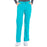 Cherokee Scrubs Pants 2XL / Regular Length Cherokee Workwear Professionals WW160 Scrubs Pants Women's Mid Rise Straight Leg Drawstring Teal Blue