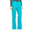 Cherokee Workwear Professionals WW160 Scrubs Pants Women's Mid Rise Straight Leg Drawstring Teal Blue