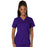 Cherokee Scrubs Top 2XL Cherokee Workwear Revolution WW620 Scrubs Top Women's V-Neck Grape