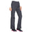 Cherokee Scrubs Pants Cherokee Workwear WW210 Scrubs Pants Women's Mid Rise Straight Leg Pull-on Cargo Pewter