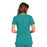 Cherokee Scrubs Top Cherokee Workwear WW645 Scrubs Top Women's V-Neck Teal Blue