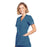 Cherokee Scrubs Top Cherokee Workwear WW650 Scrubs Top Women's Mock Wrap Caribbean Blue