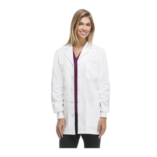 Cherokee-1362-Professional-Whites-Lab-Coats-Traditional-Classic-White
