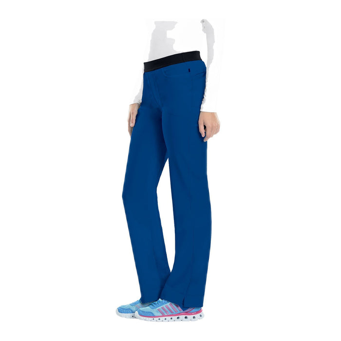 Cherokee Scrub Pants Infinity Low Rise Slim Pull-On Pant Royal Pant
