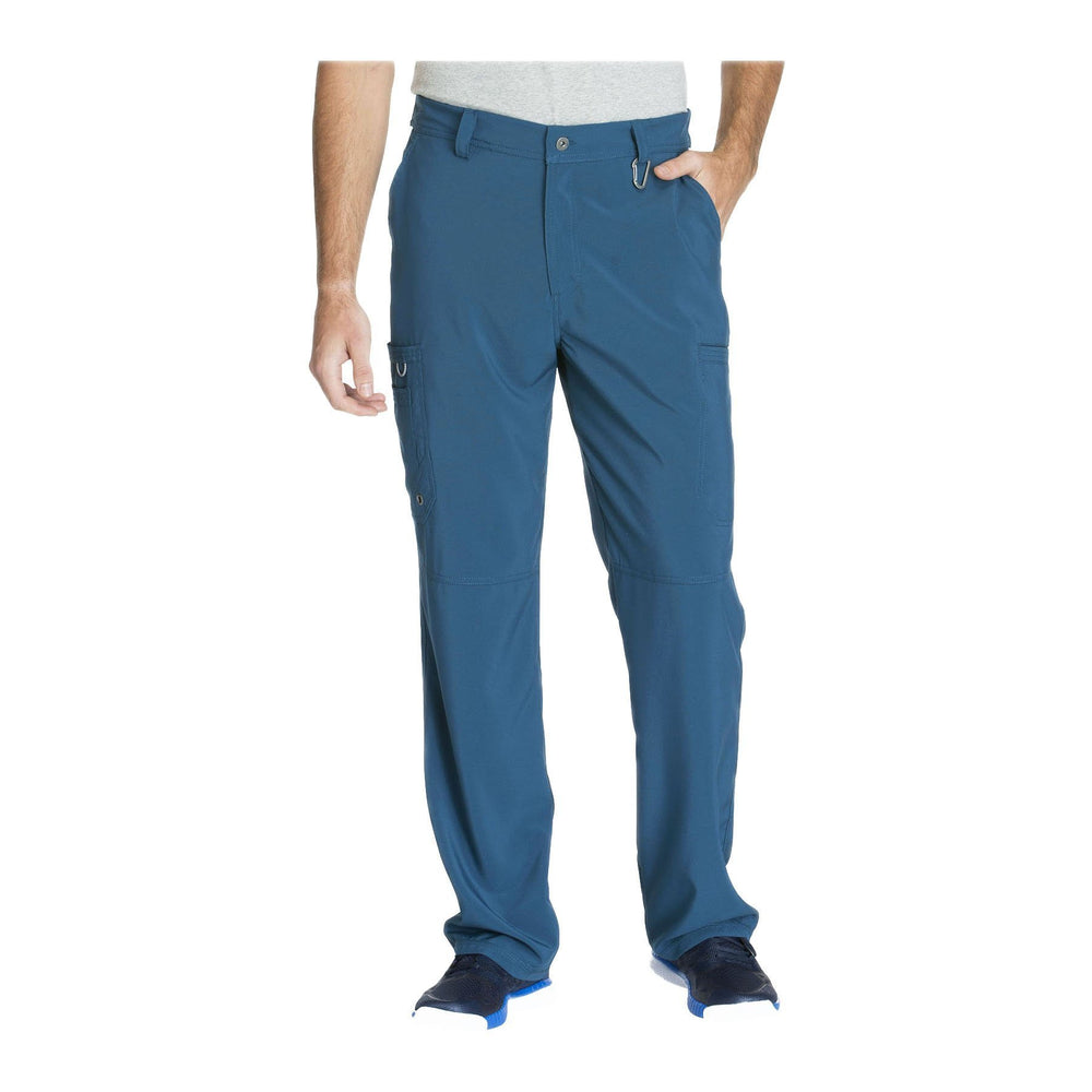 Cherokee Scrub Pants Infinity Men Fly Front Pant Caribbean Blue Pant