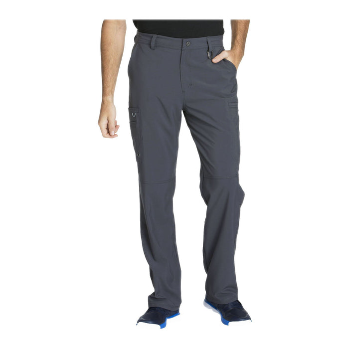 Cherokee Scrub Pants Infinity Men Fly Front Pant Pewter Pant