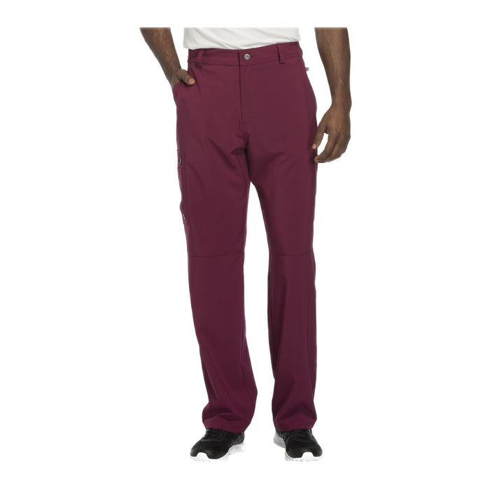 Cherokee Scrub Pants Infinity Men Fly Front Pant Wine Pant