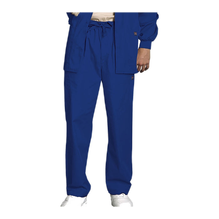 Cherokee Workwear Pant WW Men's Men's Drawstring Cargo Pant Galaxy Blue Pant