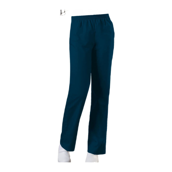 Cherokee Workwear Pant WW Natural Rise Tapered Leg Pull-On Pant Caribbean Blue Pant