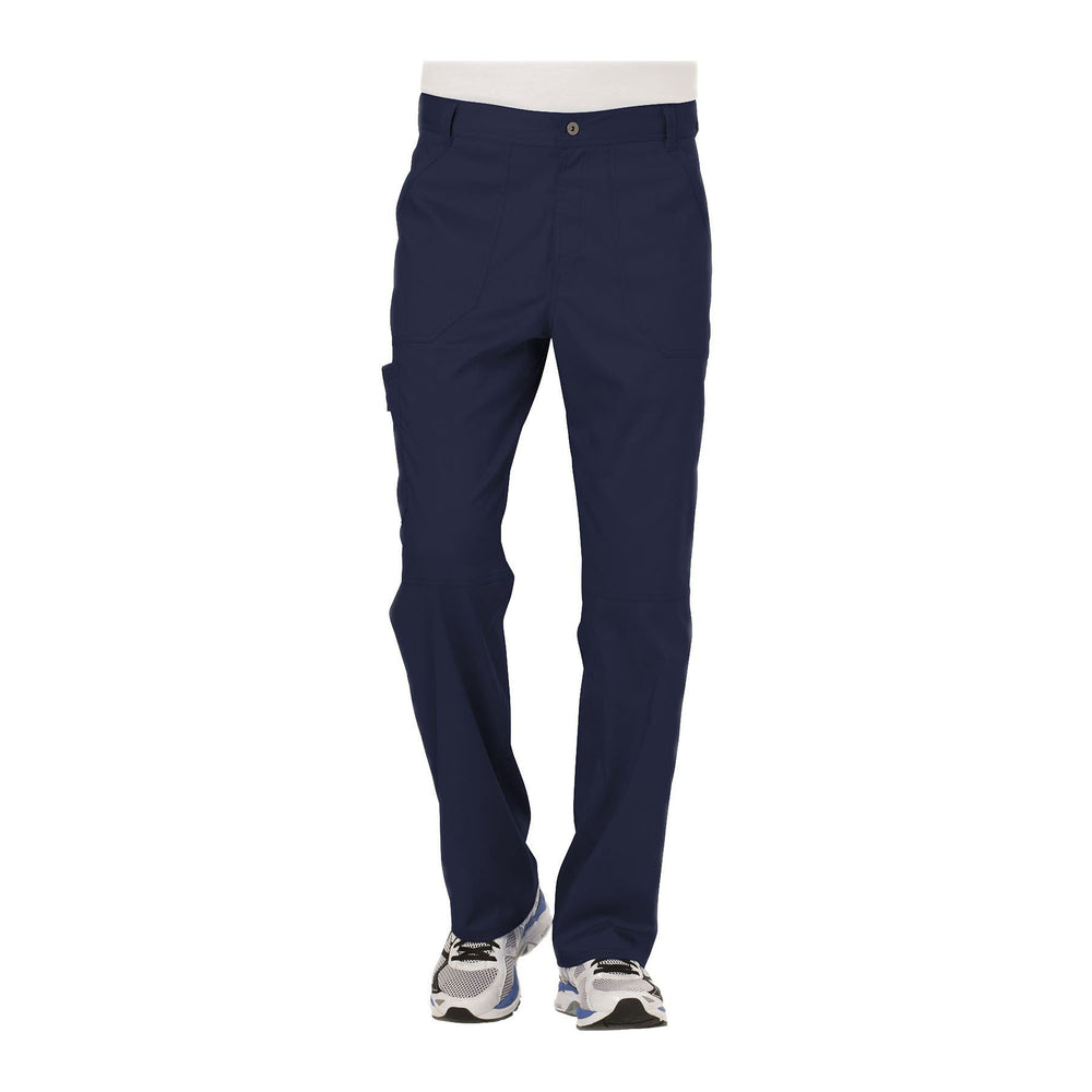 Cherokee Workwear Pant WW Revolution Men's Men's Fly Front Pant Navy Pant
