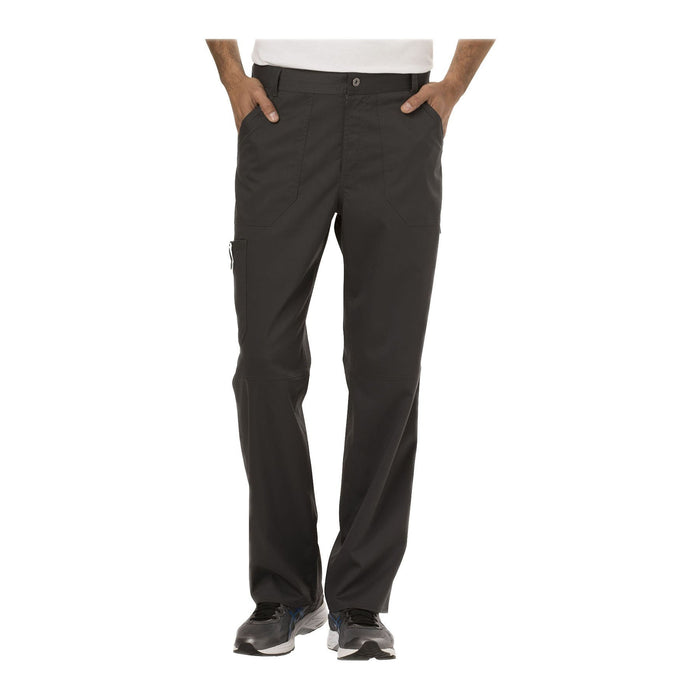 Cherokee Workwear Pant WW Revolution Men's Men's Fly Front Pant Pewter Pant
