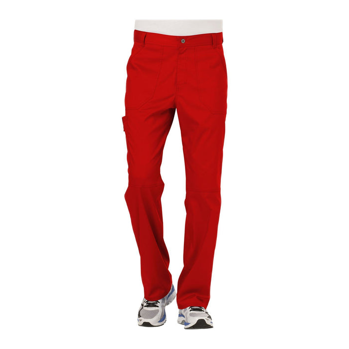 Cherokee Workwear Pant WW Revolution Men's Men's Fly Front Pant Red Pant