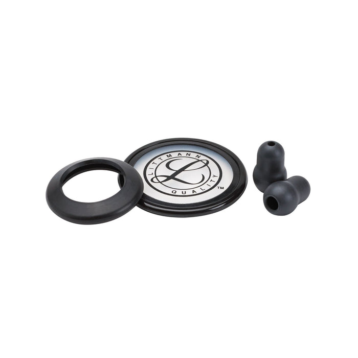Littmann Stethoscopes Spare Parts Kit Black Classic III and Cardiology IV 40016