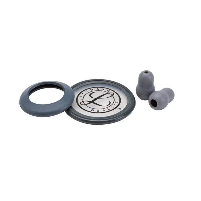 Littmann Stethoscopes Spare Parts Kit Gray Classic III and Cardiology IV 40017