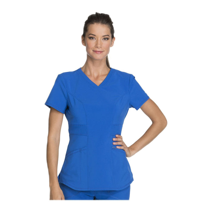 Cherokee Scrub Top Infinity V-Neck Top Royal Top