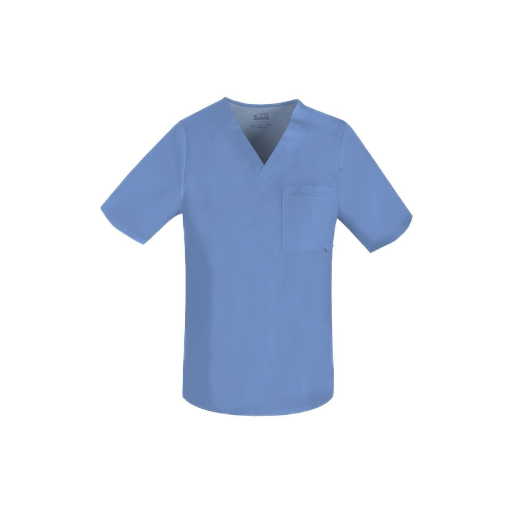 Cherokee Scrub Top Luxe for Men V-Neck Top Ciel Top