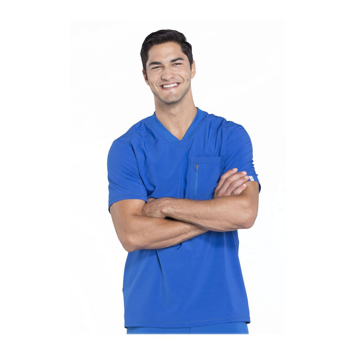 Cherokee Scrubs CK910A Infinity Men Top Mens Royal Top