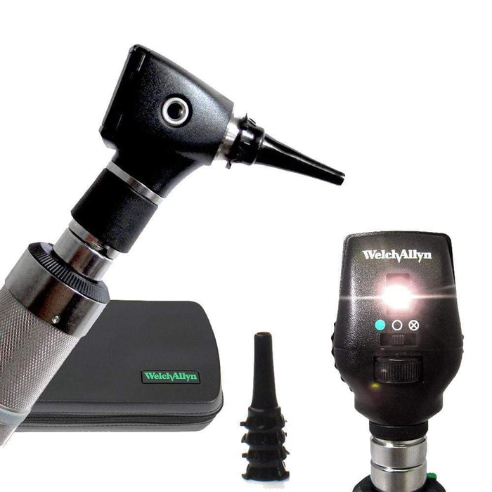 Welch Allyn Diagnostic Sets Standard 20000 Otoscope / Coaxial 11720 / C-Cell Non-rechargeable Handle Welch Allyn 3.5V Otoscope and Ophthalmoscope Diagnostic Sets