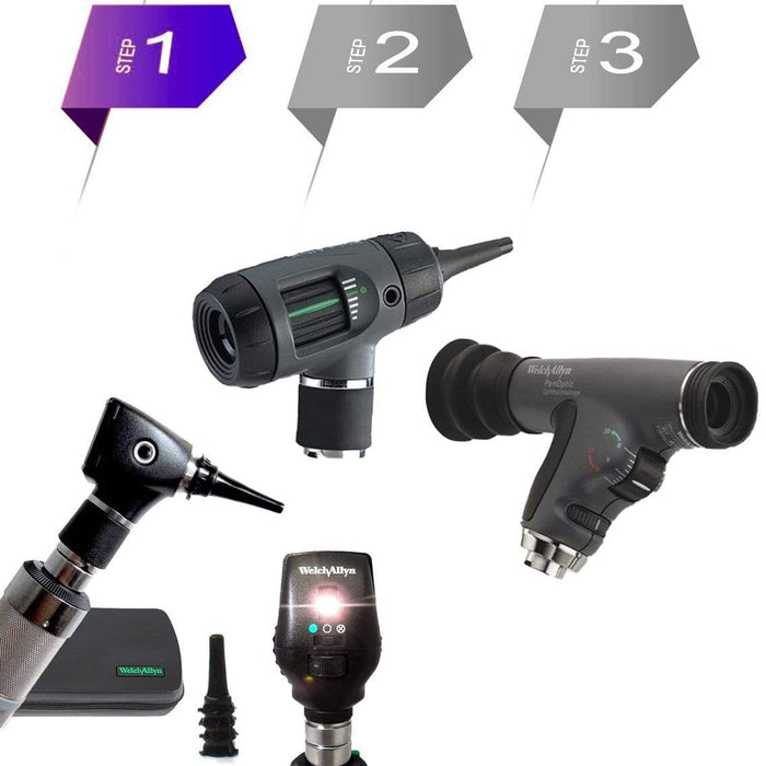 Welch Allyn Diagnostic Sets Welch Allyn 3.5V Otoscope and Ophthalmoscope Diagnostic Sets