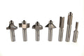 Whiteside Basic Router Bit Set 1/2 inch Shank