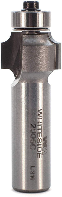 "Whiteside Bit (2005C) with 1/8"" Radius, 3/4"" Diameter & 1/2"" Length"