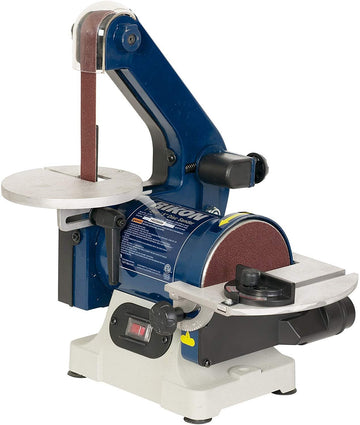 "RIKON Power Tools 50-151 Belt with 5"" Disc Sander, 1"" x 30"", Blue"