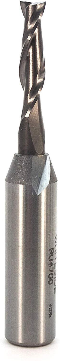 Whiteside Standard Spiral Bit with Up Cut Solid Carbide (RU4700 )