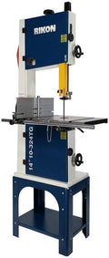 "Rikon 14"" Bandsaw 1.50 HP Motor with Tool-Less Guides (10-324TG)"